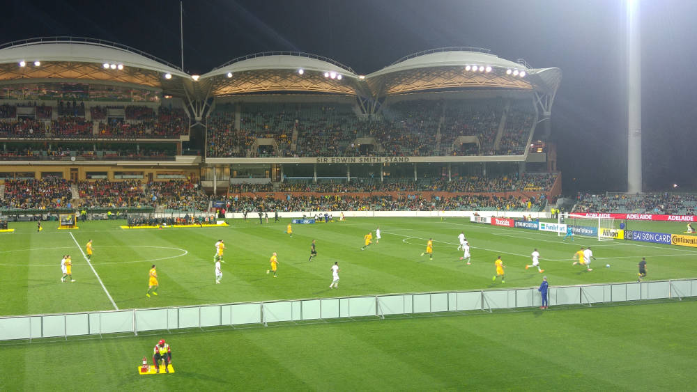 Socceroos Adelaide Oval