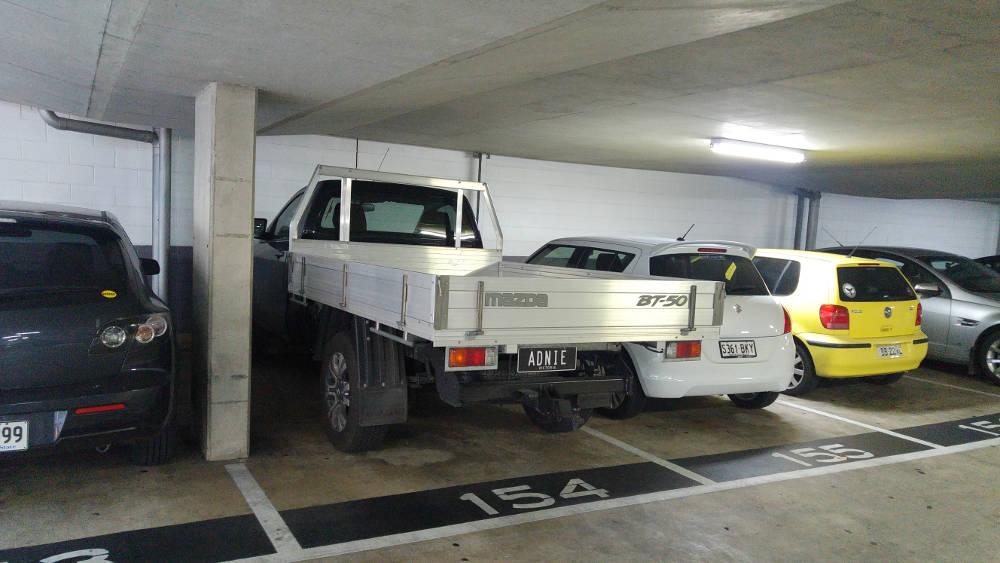 Adelaide Ute car park
