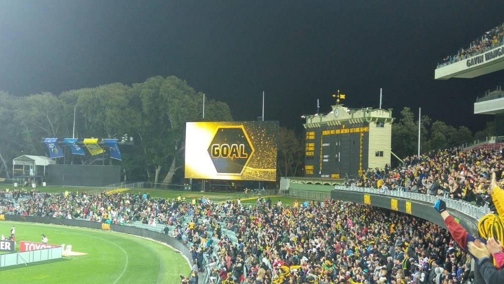 Socceroos goal in Adelaide