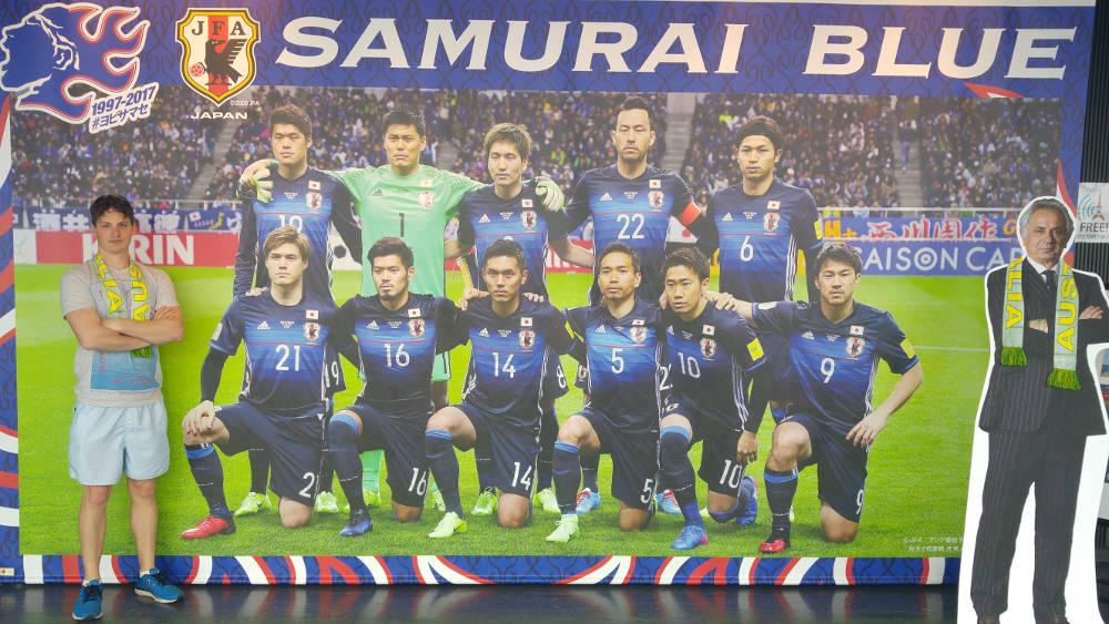 Adam with Samurai Blue