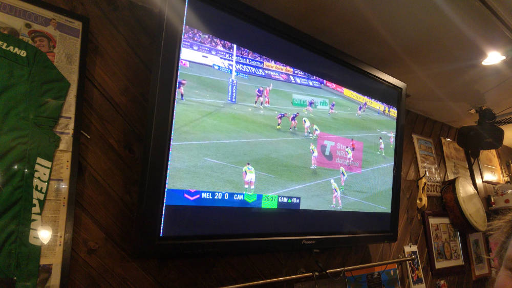 Melbourne Storm game in Tokyo