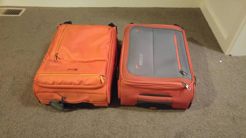 Luggage to Tokyo ready