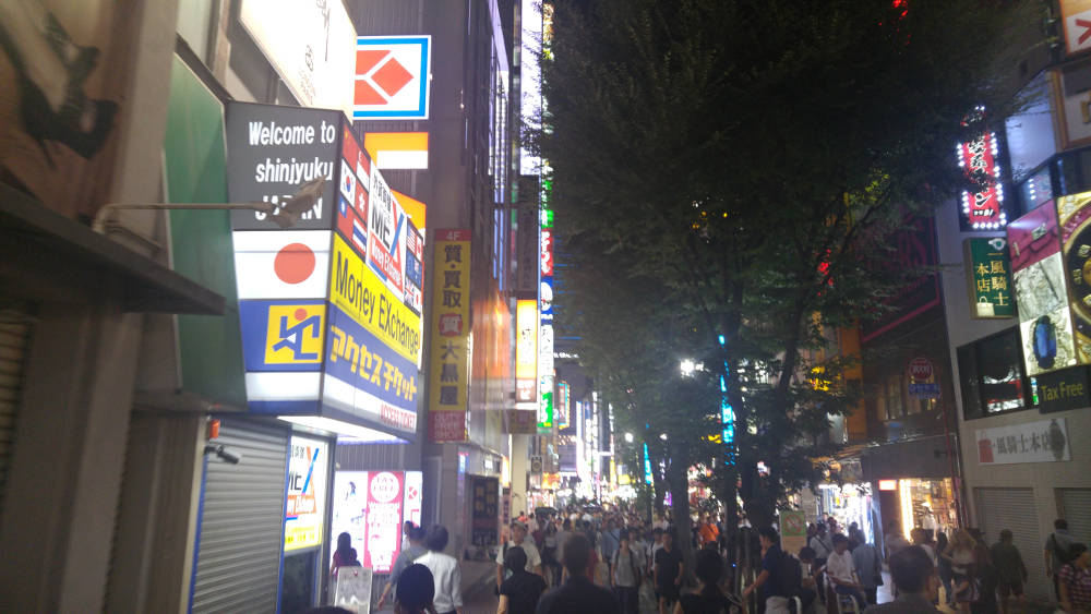 Tokyo night one