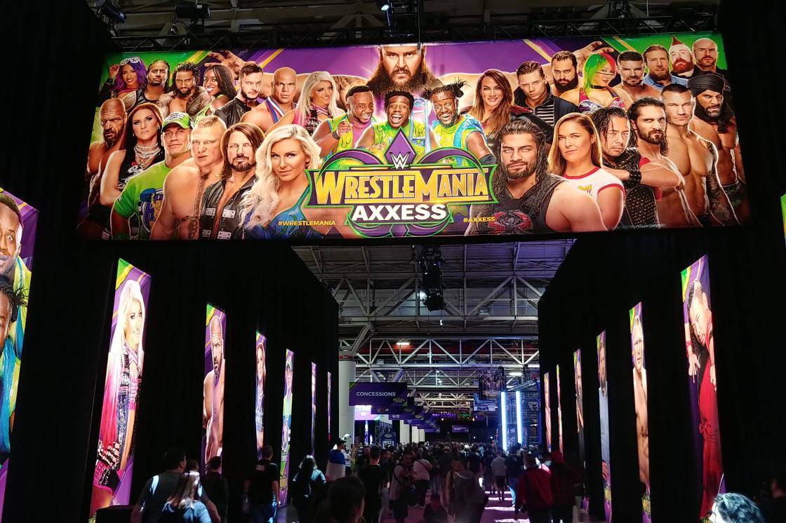 WWE Axxess New Orleans