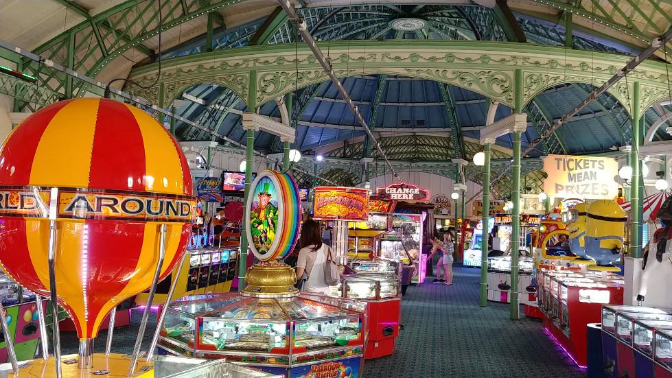 Brighton arcade