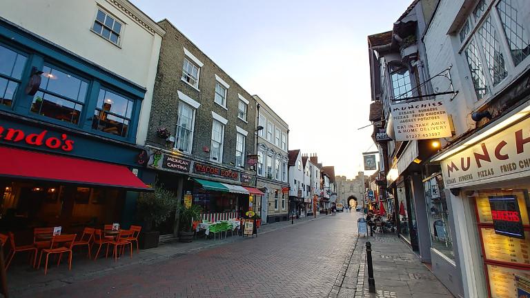 Canterbury streets