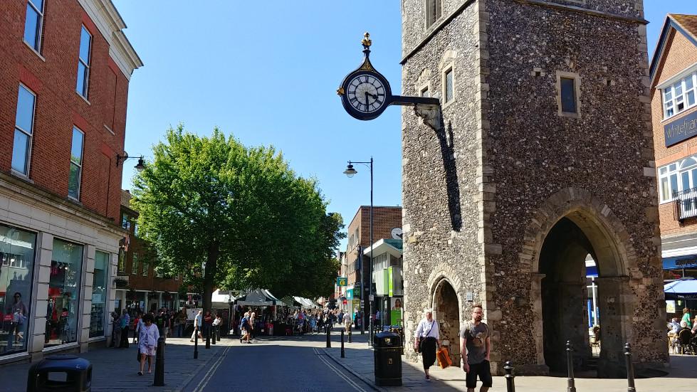 Canterbury tower