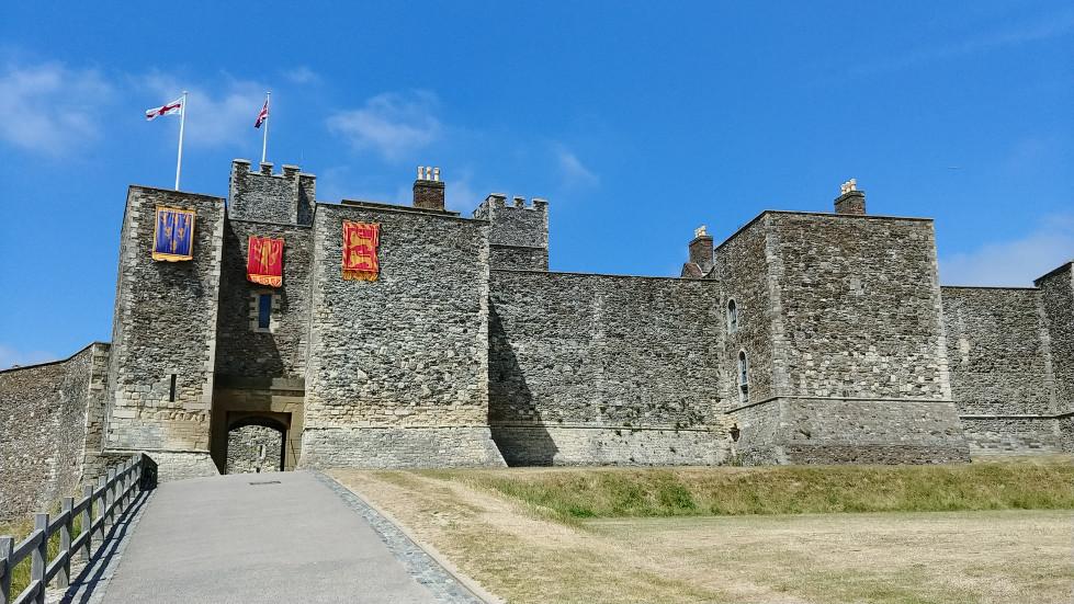 Dover Castle entrance