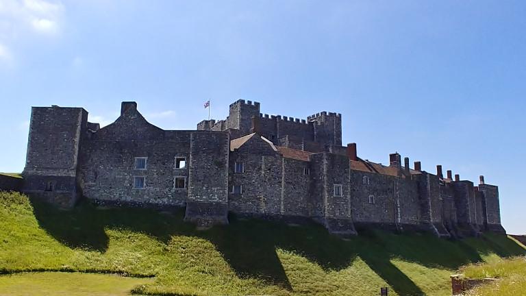 Dover Castle side