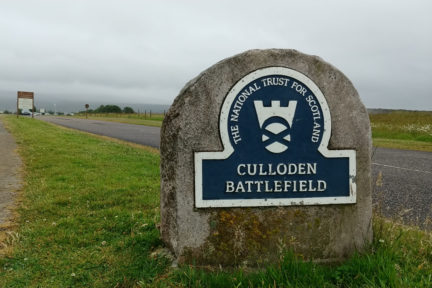 Culloden sign