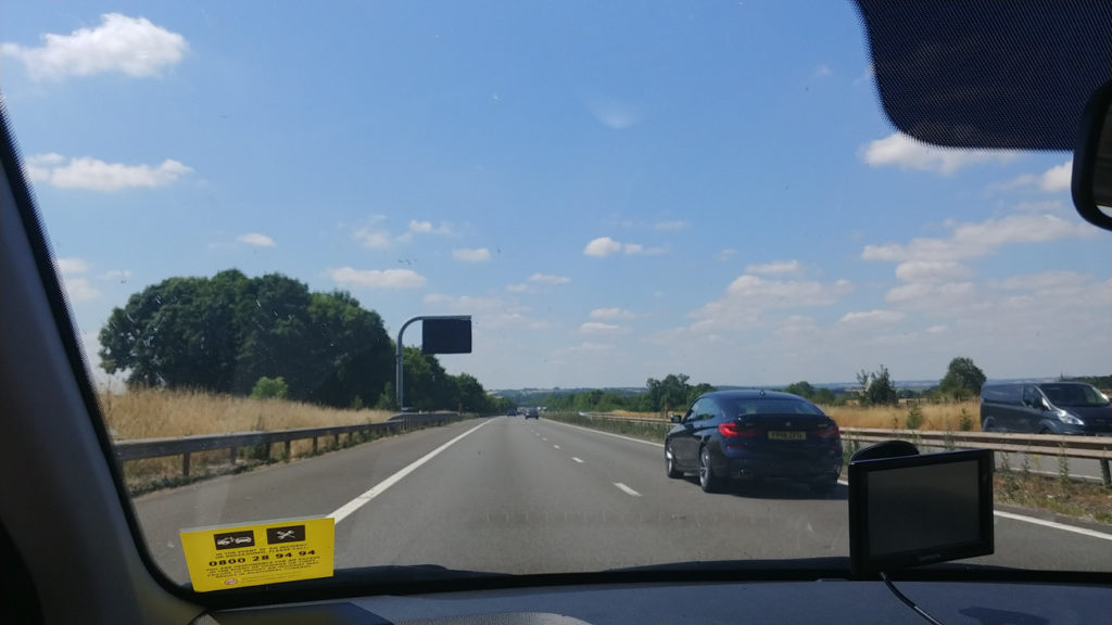 Driving to Oxford
