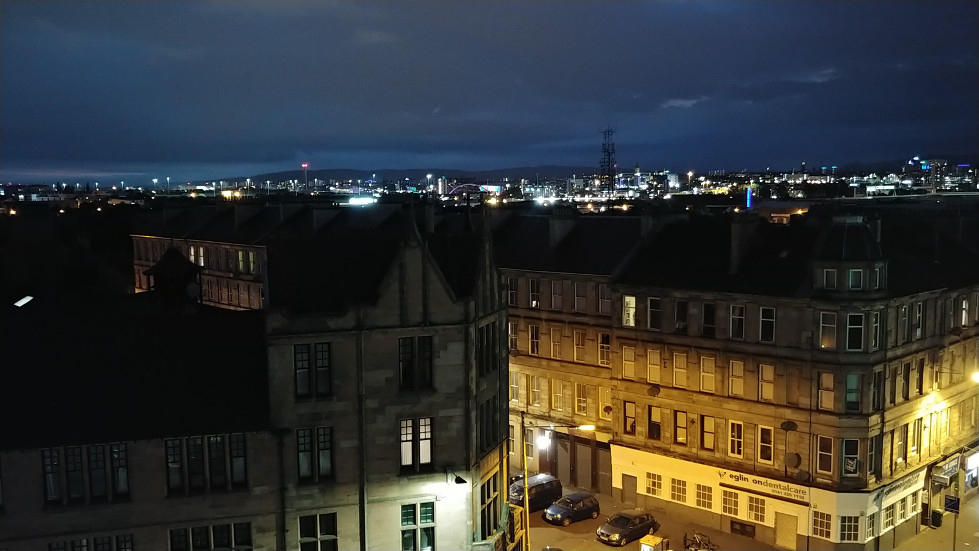 Glasgow night