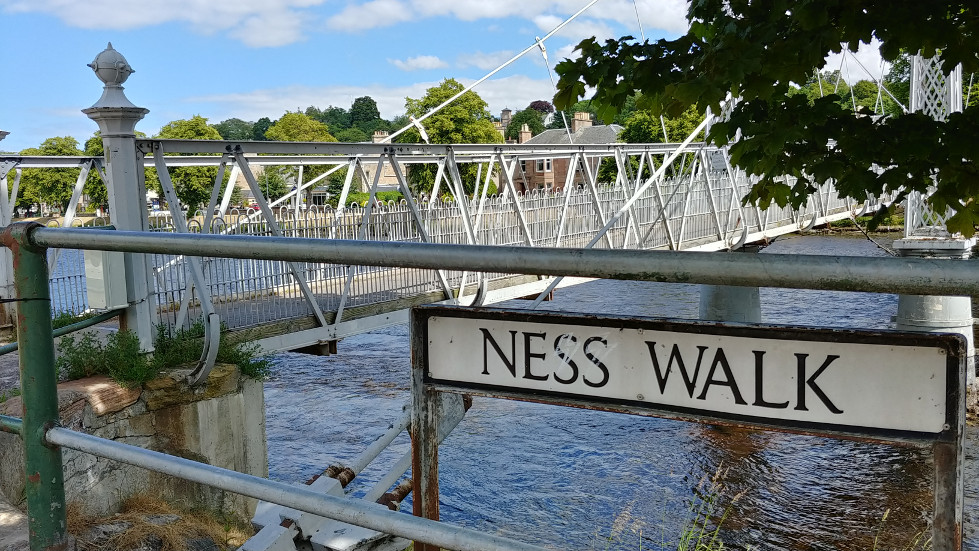 Inverness Ness Walk