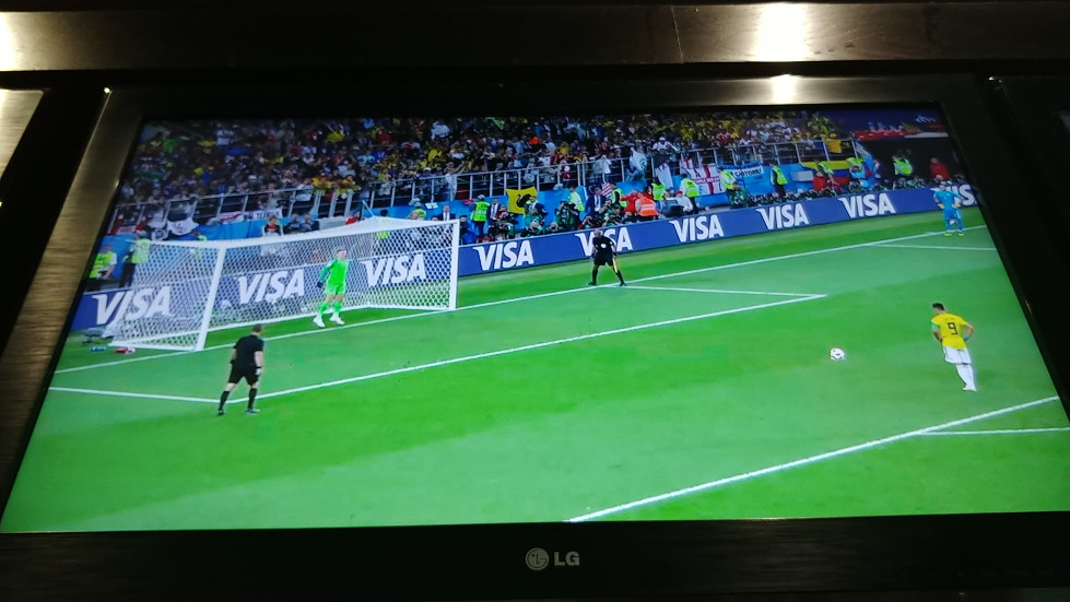 England Colombia penalties