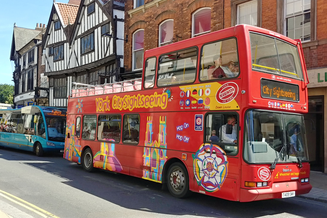 York Red Bus