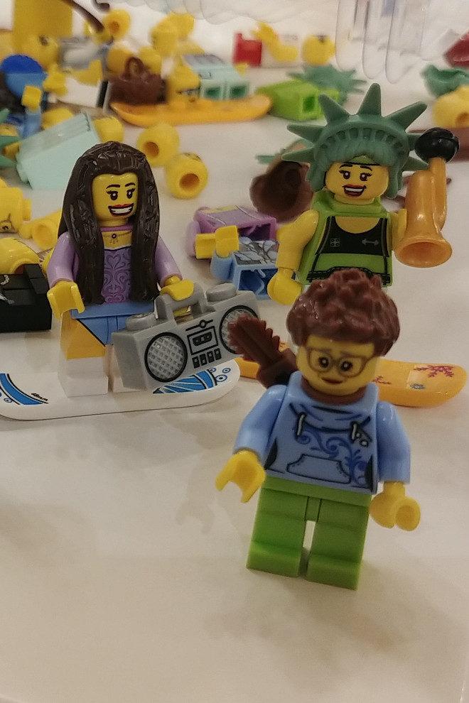 London Lego Men