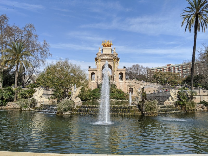Barcelona fountain