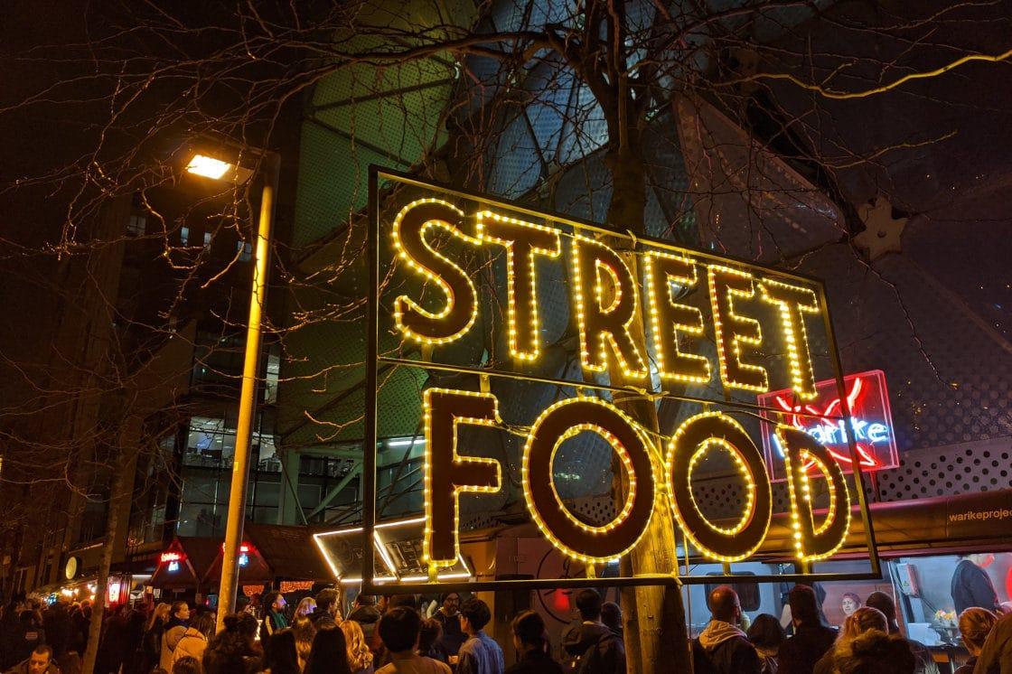 Barcelona street food