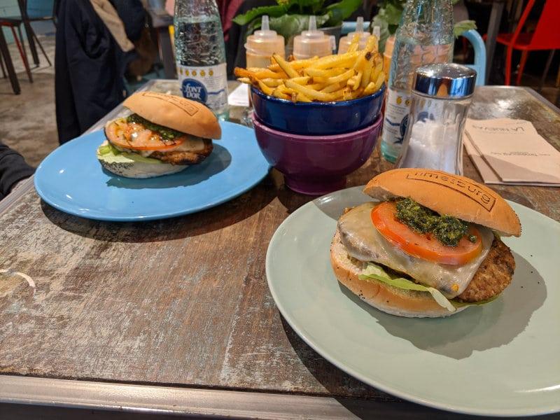 Burgers in Barcelona