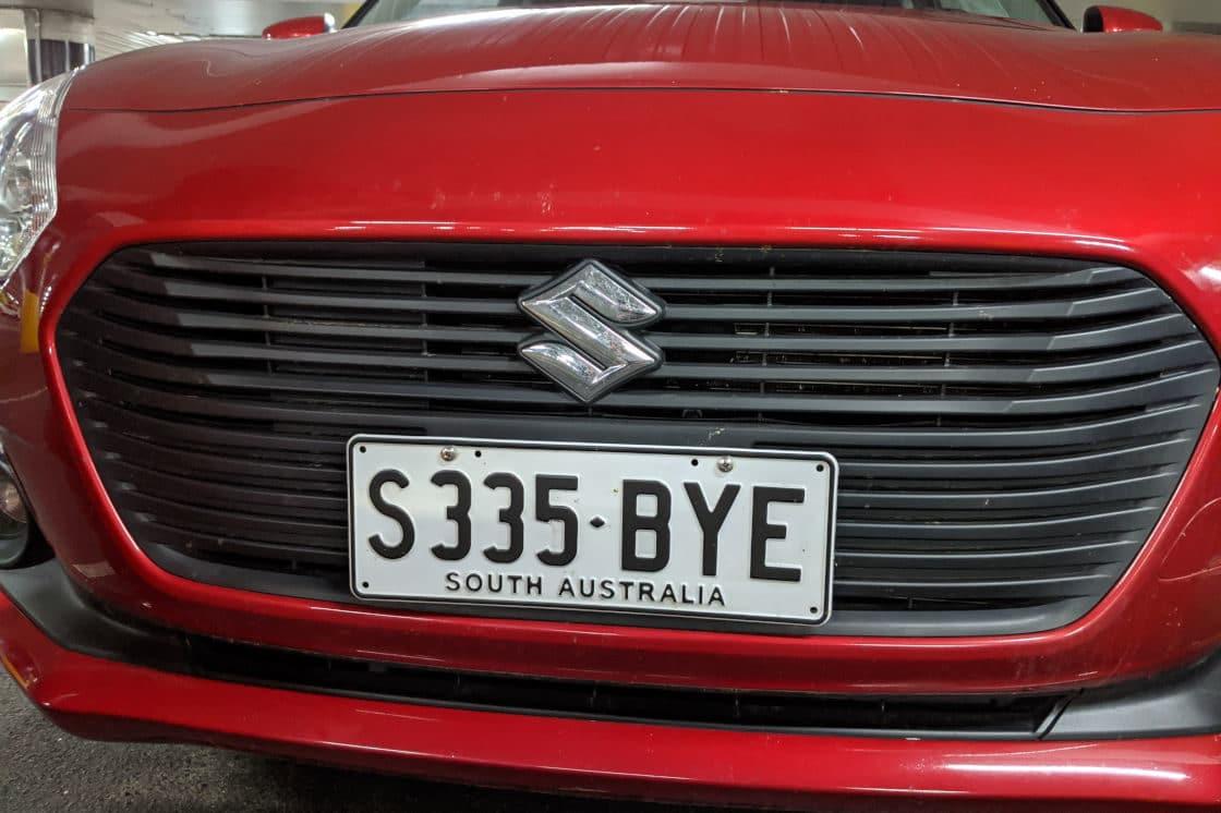 rental car goodbye