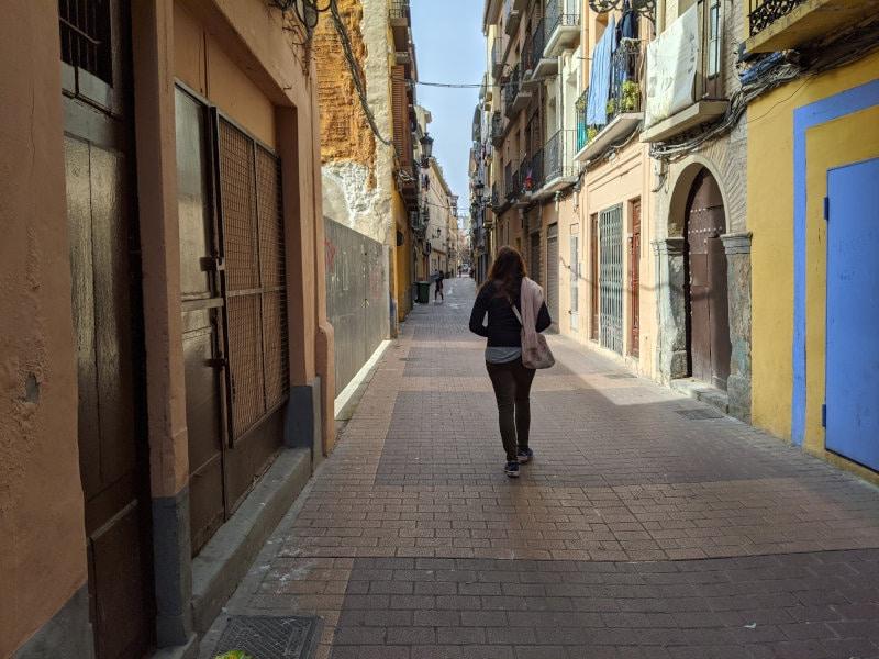 Zaragoza walk