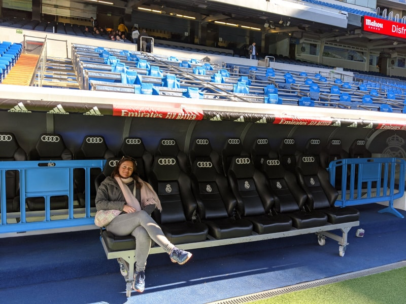 Players bench
