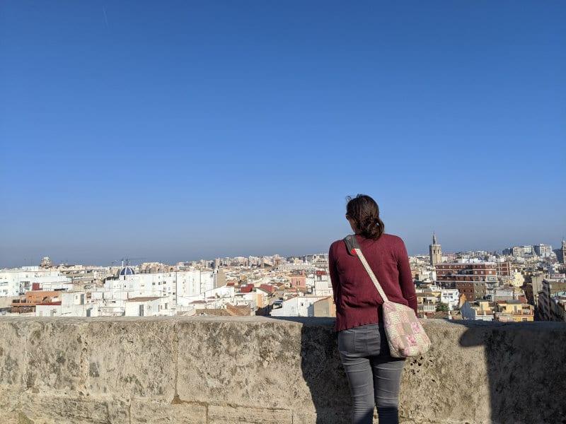 Linnie view of Valencia