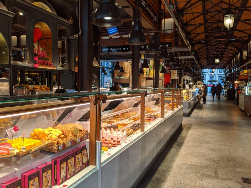 Madrid food market