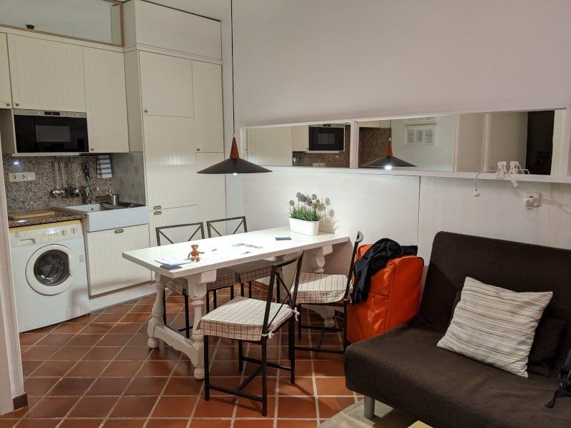 Madrid loungeroom