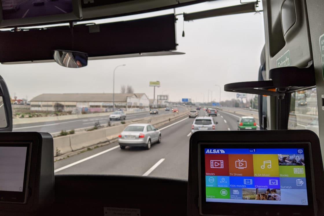 Madrid to Zaragoza bus