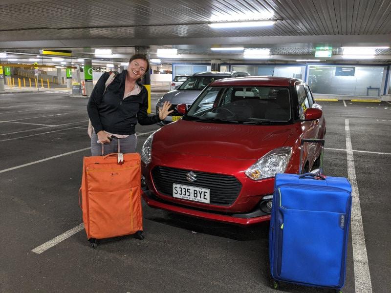 rental car airport