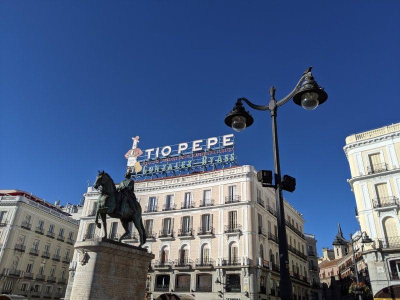 Madrid plaza square