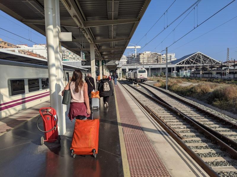 Alicante train station