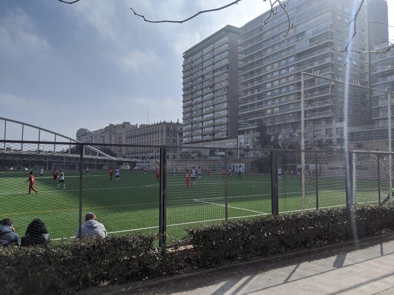Valencia local soccer game