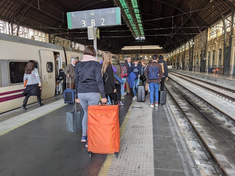 Valencia train station