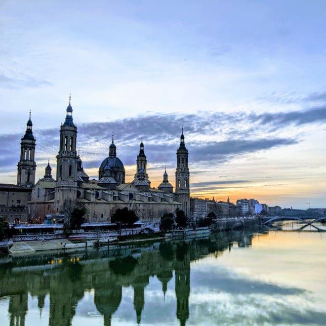 Zaragoza sunset cover photo