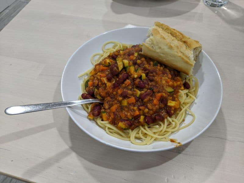 Zaragoza meal