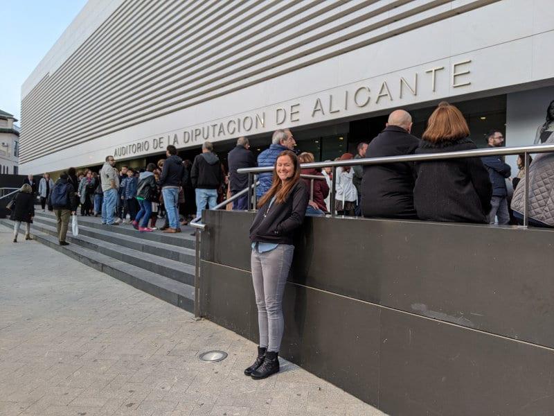 Alicante auditorium