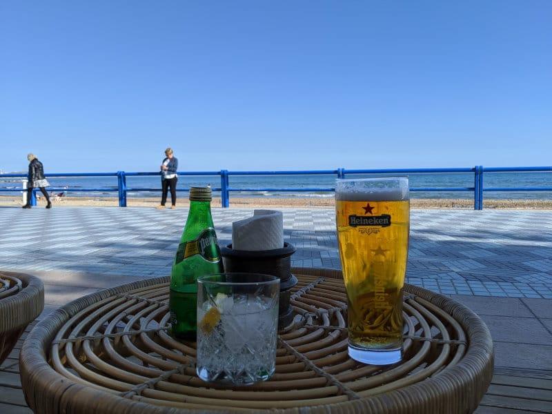 Alincante beer beach