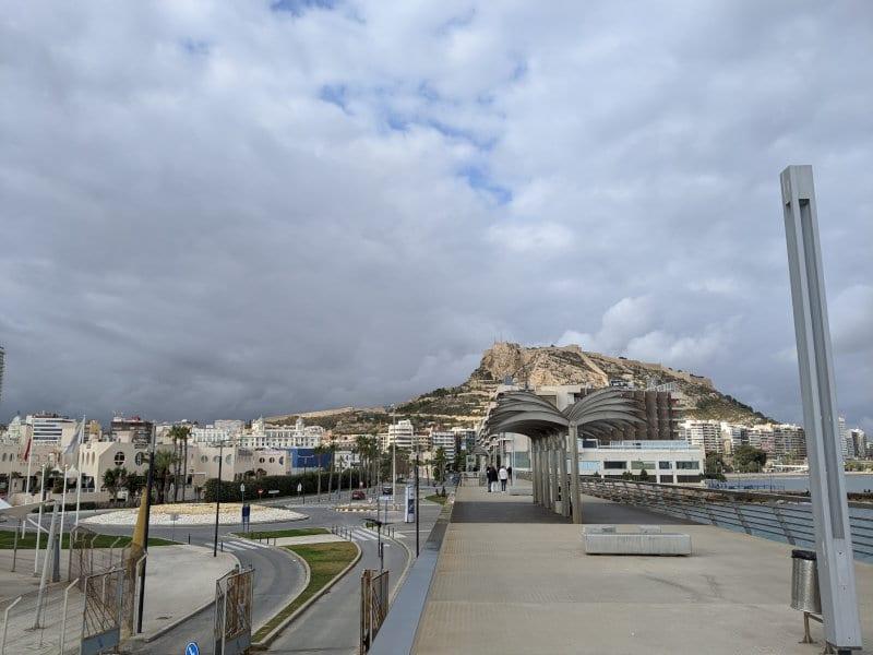 Alicante pier