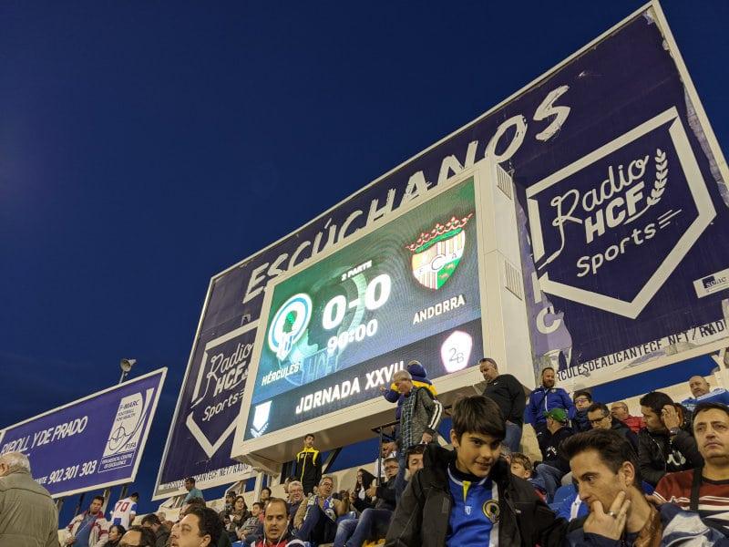Alicante score 0-0