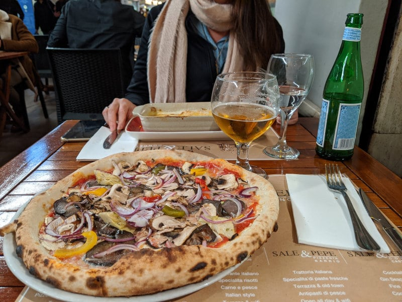 Alicante pizza