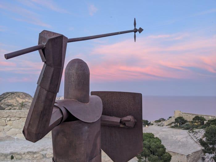 Knight in Alicante